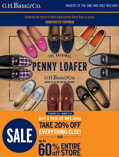Bass shoes usa coupons