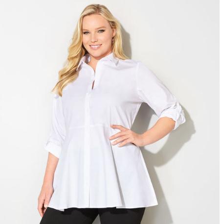 Empire Waist Tunic Shirt