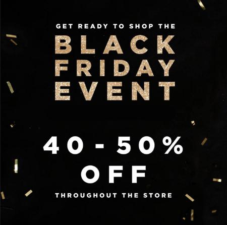 Black Friday Sale 40-50% Off
