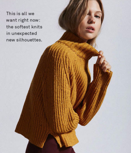Shop The New Knits