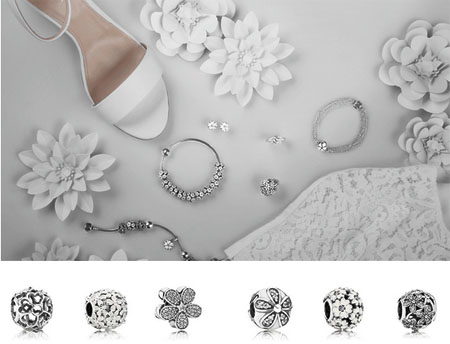 Shop This Season's Cool White Jewelry at Pandora