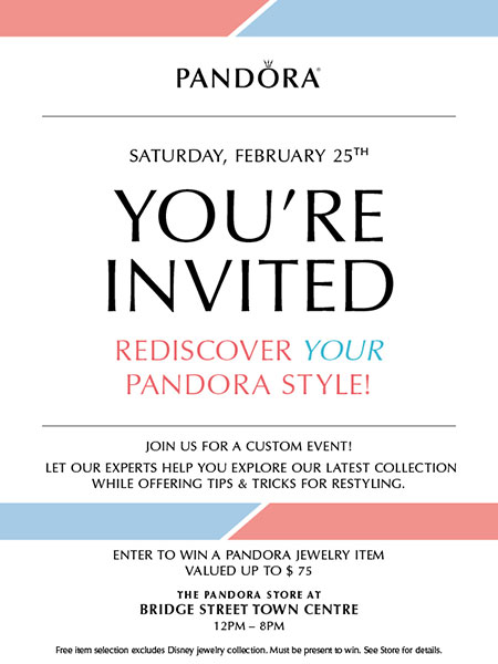 Enter to Win a Pandora Jewelry Item!