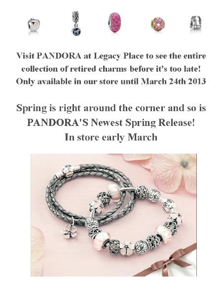 Pandora Charms 2013
