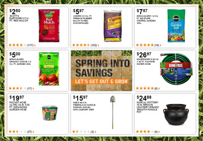 Weekly Specials at Home Depot