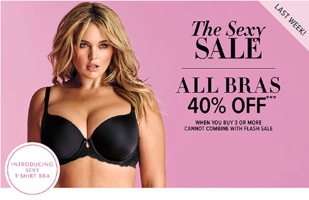 40% Off All Bras