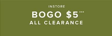BOGO $5 Clearance at Torrid