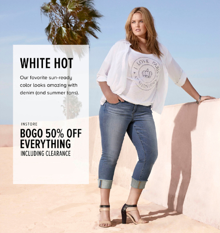 BOGO 50% Off Everything at Torrid