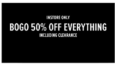 BOGO 50% Off Everything! at Torrid