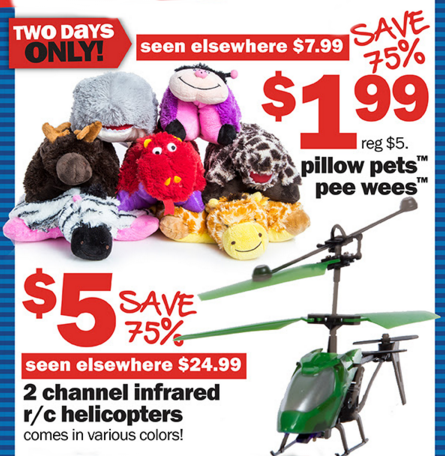 Save 75% on Select Items