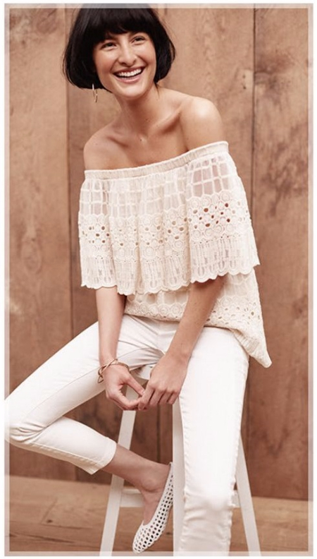 Pretty Lace, Eyelet and Crochet Looks