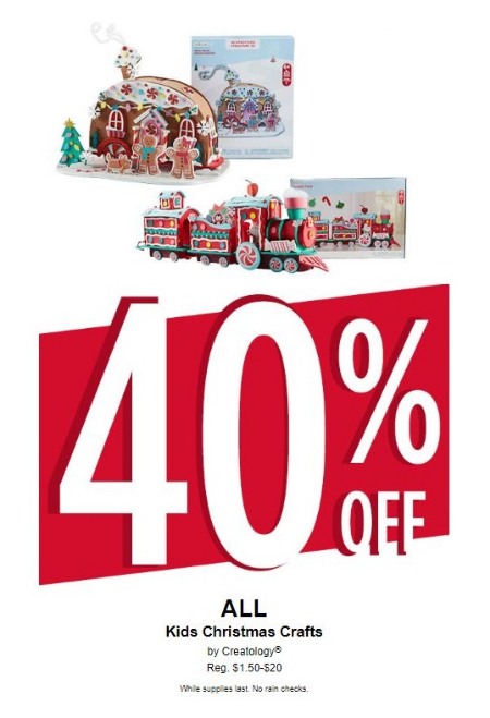 Michaels Christmas Crafts.40 Off All Kids Christmas Crafts By Creatology