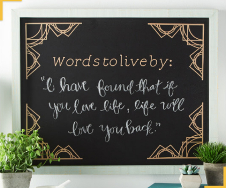 Zona Rosa ::: Cricut® Personalized Chalkboard ::: MICHAELS