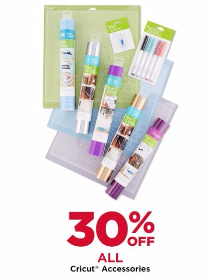 30% Off All Cricut Accessories