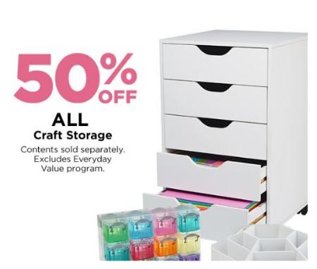 50 Off All Craft Storage
