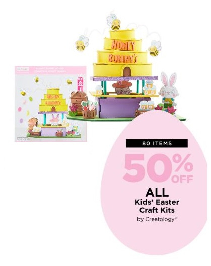 Watters Creek 50 Off All Kids Easter Craft Kits By Creatology