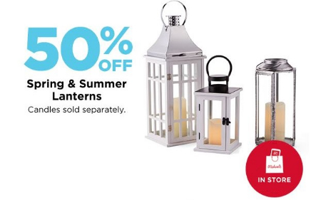 Jefferson Pointe 50 Off Spring And Summer Lanterns