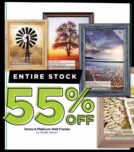 55% Off Home & Platinum Wall Frames by Studio Décor