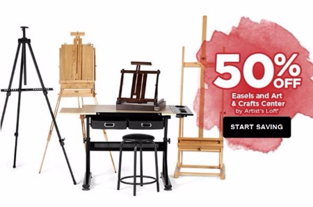 50% Easels and Art & Crafts Center by Artist's Loft