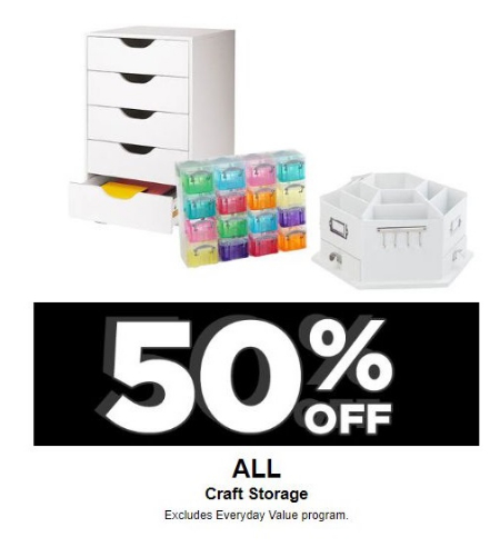 Zona Rosa 50 Off All Craft Storage Michaels