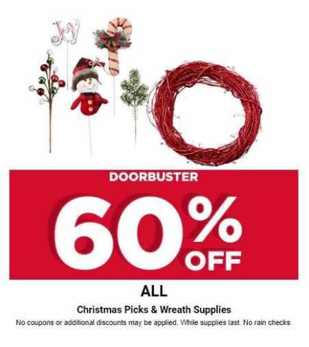 Mountain Farms 60 Off All Christmas Picks Wreath Supplies