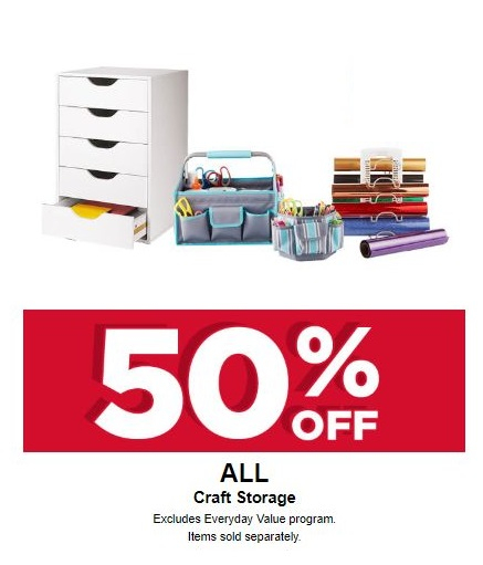 The Shoppes At Blackstone Valley 50 Off All Craft Storage