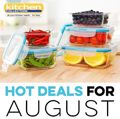 August Kitchen Collection 2018 Promotions And S