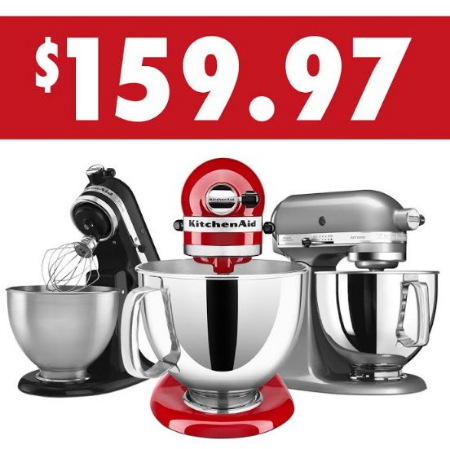 Kitchen Collection Kitchenaid Refurbished 5qt Tilt Head Stand Mixers Now Only 159 97 Each
