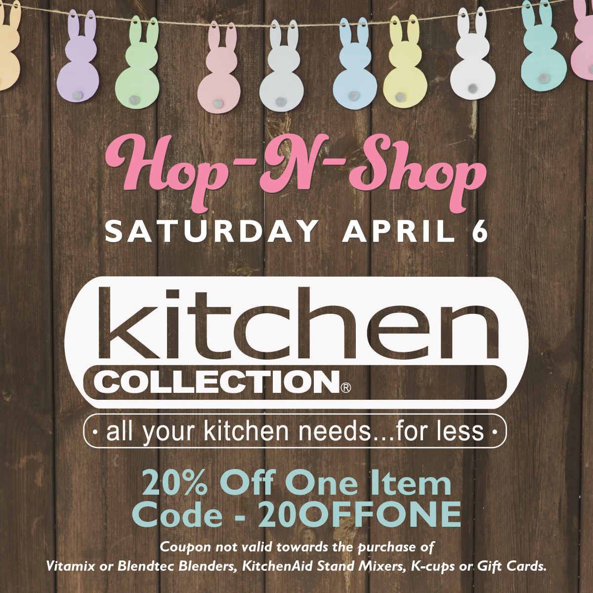 Hop N Kitchen Collection April 6