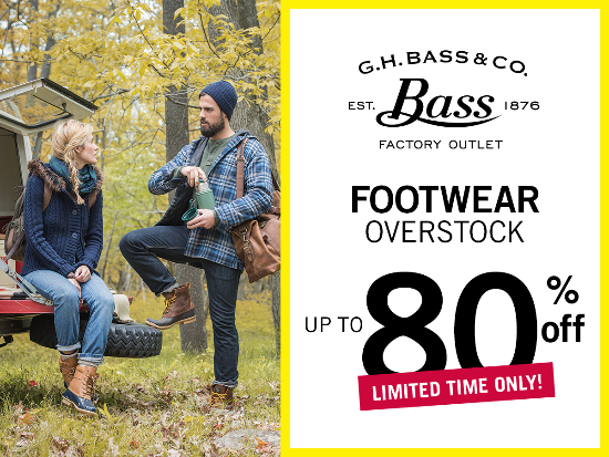 Footwear Overstock Blowout Up To 80% Off!