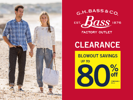 Clearance Blowout Savings Up To 80% Off!