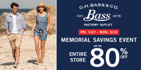 MEMORIAL SAVINGS EVENT! EVERYTHING UP TO 80% OFF