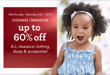 Up to 60% Off Colossal Clearance