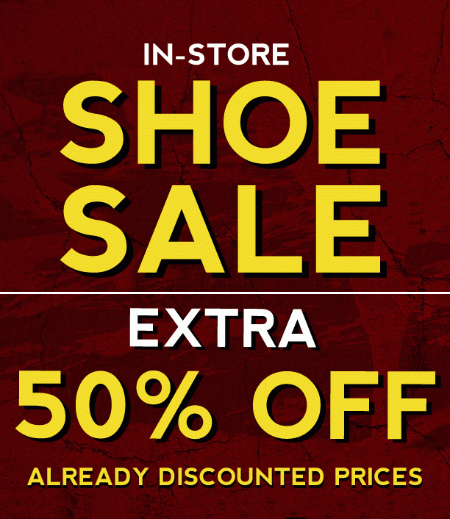 50% Off Shoe Sale at Tilly's