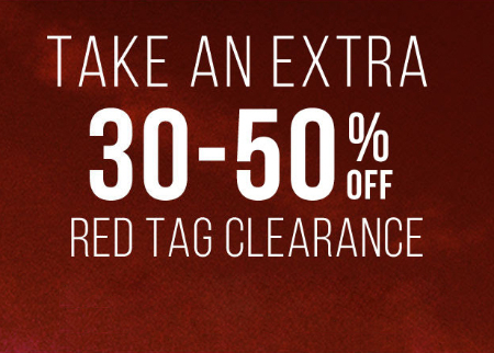 30-50% Off Red Tag Clearance at Tilly's