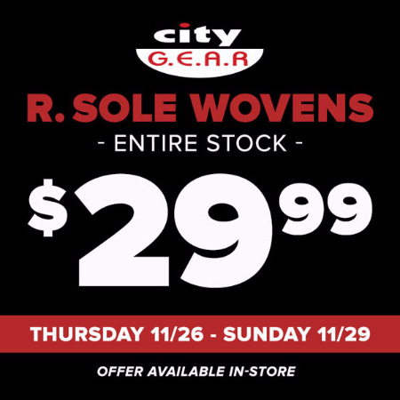 $29.99 R. Sole Wovens