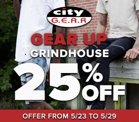 25% Off Grindhouse
