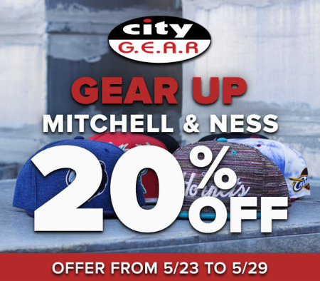 20% Off Mitchell & Ness