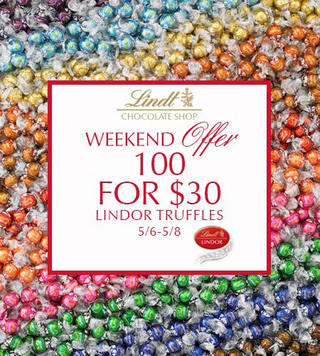 100 for $30! LINDOR Truffles