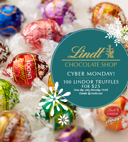Cyber Monday at Lindt