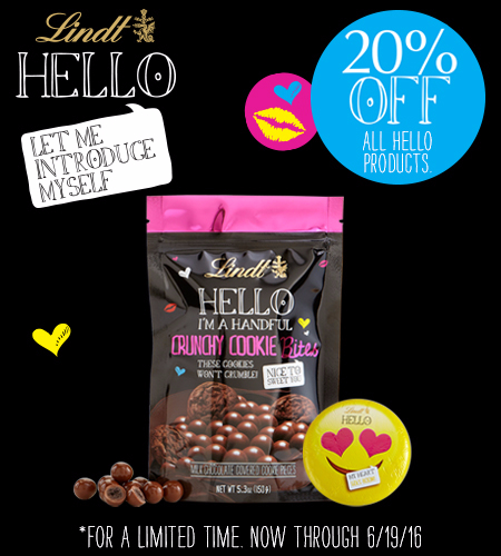 20% off all HELLO products