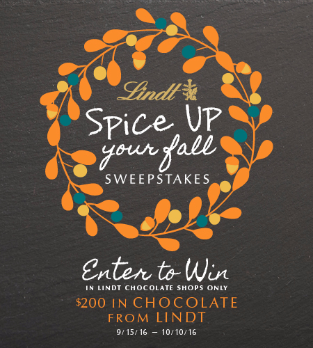 Enter To Win $200 In Chocolate from Lindt!