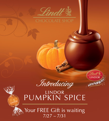Introducing LINDOR Pumpkin Spice Truffle