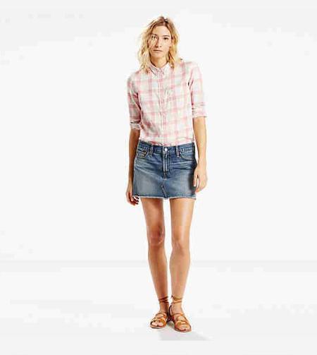 Authentic Mini Skirt