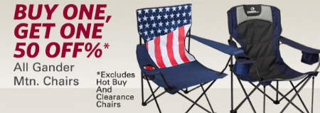 BOGO 50% Off Chairs