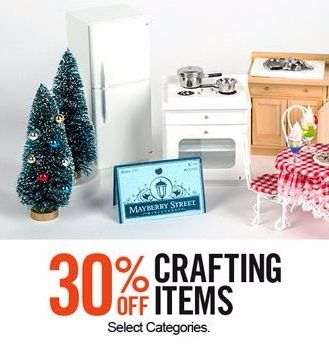 30% Off Crafting Items