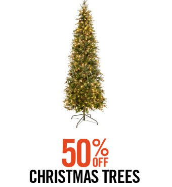 shop in store and take 50 off christmas trees - Hobby Lobby Christmas Trees