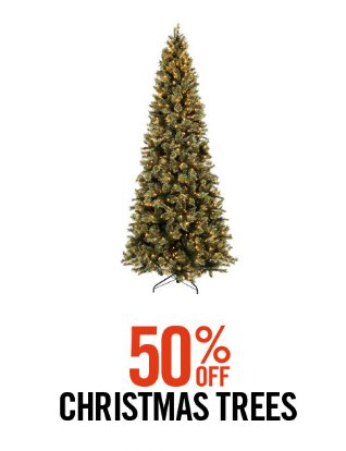Hobby Lobby | 50% Off Christmas Trees - Heritage Mall ::: 50% Off Christmas Trees ::: Hobby Lobby