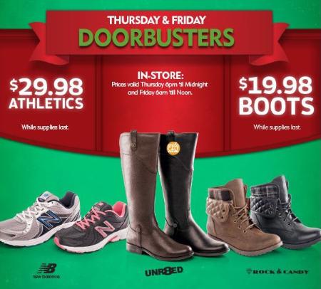 Shop Thursday & Friday Doorbusters
