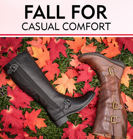 Fall For Comfort Shoe Lover at Shoe Carnival