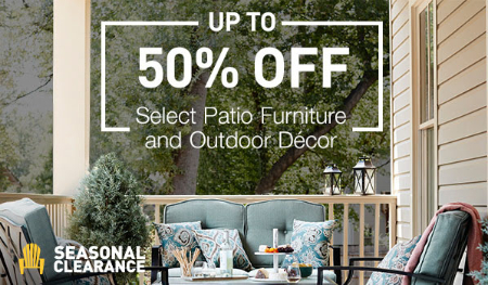 Up to 50% Off Patio